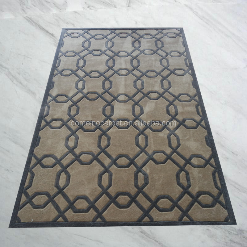 300D Silk handtufted floor carpets and rugs