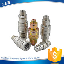 made in china push and pull Type hydraulic quick disconnects