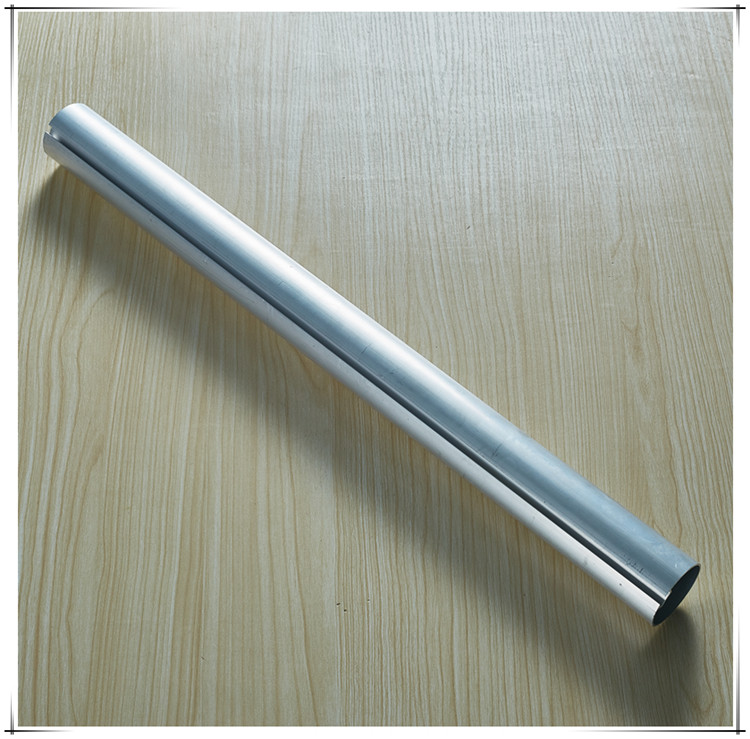 Grey color aluminum tube for roller blind, china factory hot rolled aluminium pipe