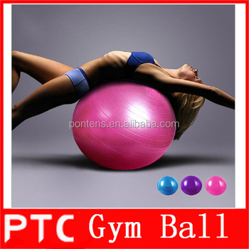 Yoga ginástica rítmica bola atacado 45 cm 55 cm 65 cm 75 cm bolas de fitness 06655037ddf2a