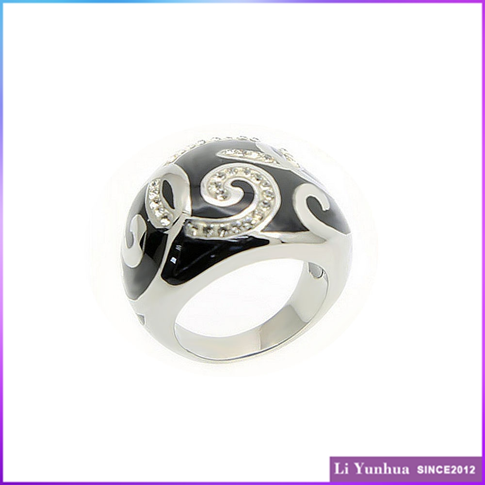 Make your own design stainless steel rock style cheap simple casting rings fashion