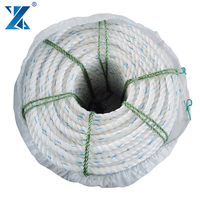 CHNLINE low cost 3 strand polypropylene longline fishing rope with 22mm