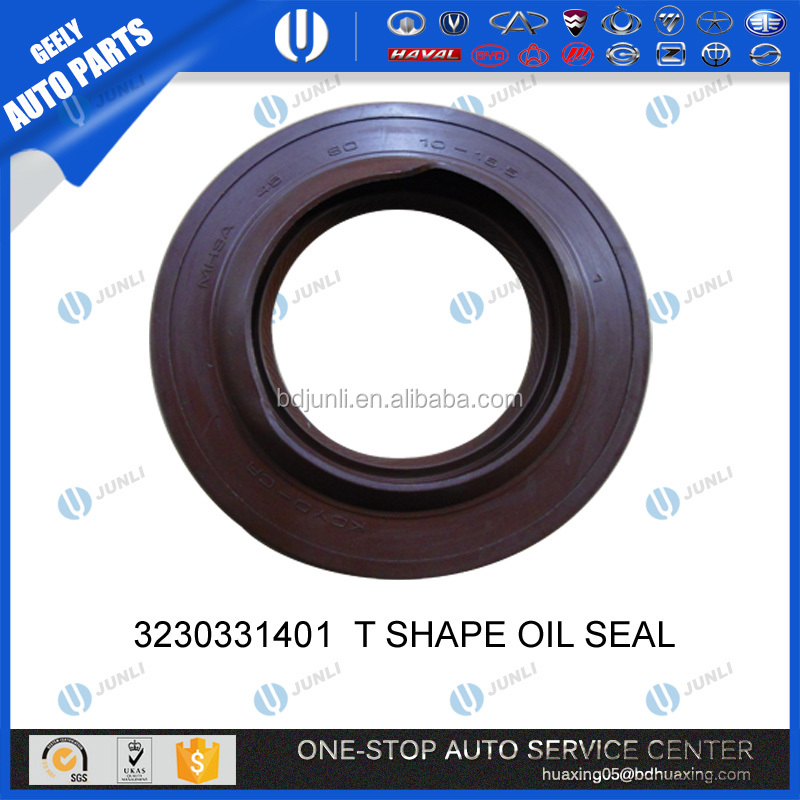 GEELY AUTO PARTS 3230331401 T SHAPE OIL SEAL emgrand CHINESE SPARE PARTS