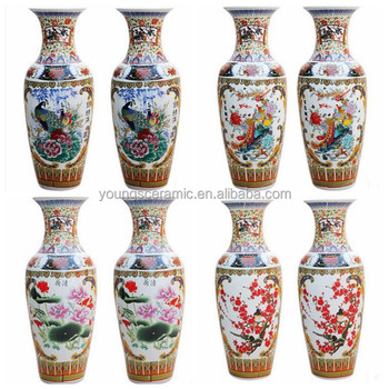 About 1m Tall Chinese Ceramic Floor Vases For Home Outdoor Decor Vase Product On