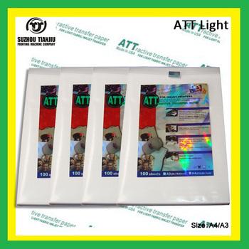 Att best quality t shirt heat transfer paper a3 a4 buy for Best quality t shirt transfer paper