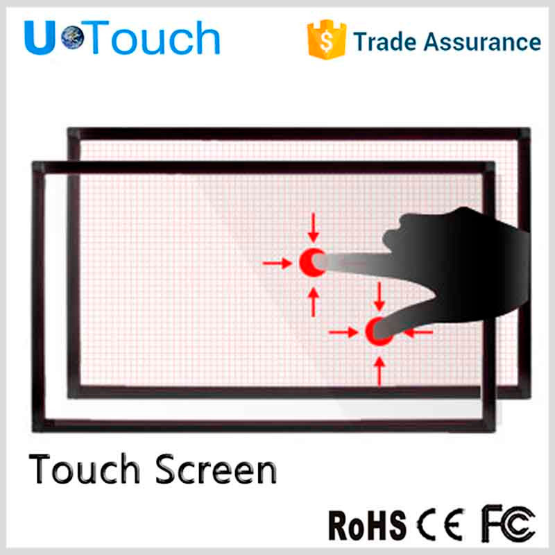 Usb dual industriële open infrarood touch screen/paneel montage/touch overlay