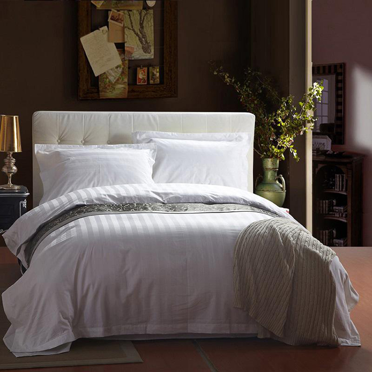 wholesale cheap dark manufacturer price nature white Jacquard goose down insert bedding duvet cover