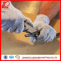 Nocry Level 5 Cut Resistant PU Safety Gloves For Working