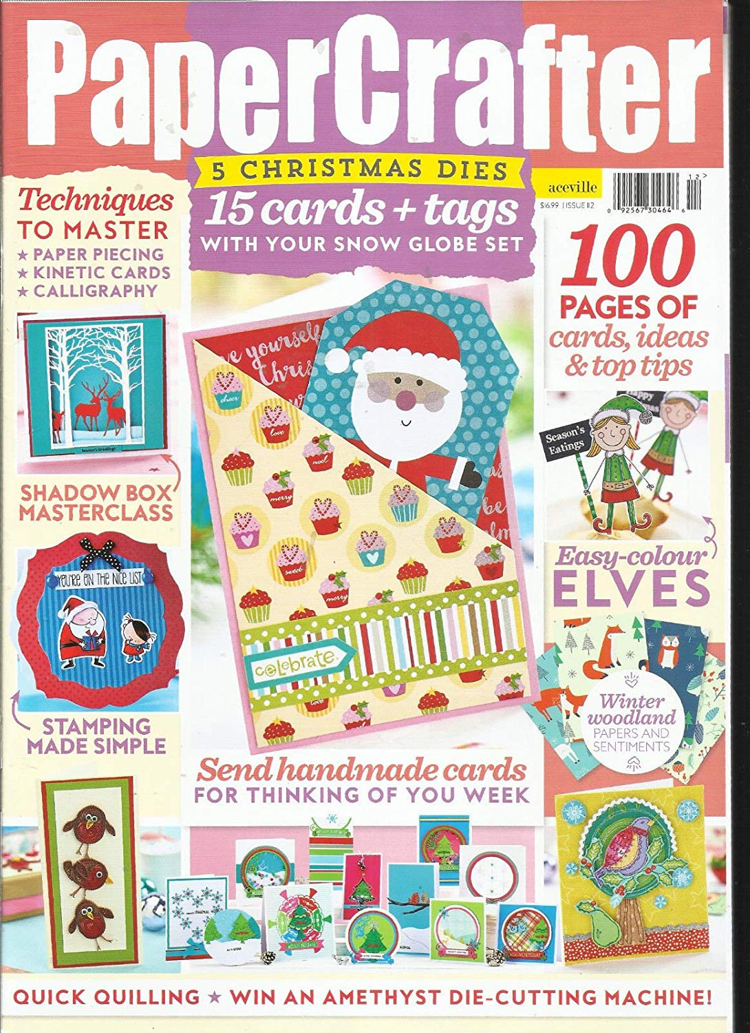 PAPER CRAFTER ISSUE, 2017# 112 FREE GIFTS OR CARD KIT ARE NOT INCLUDED.
