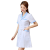 Long Sleeve Doctor Dress Female Nurse Dress Summer Beauty Salon Pharmacy Lab Coat