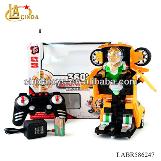 Light&music deformation of the robot rc car