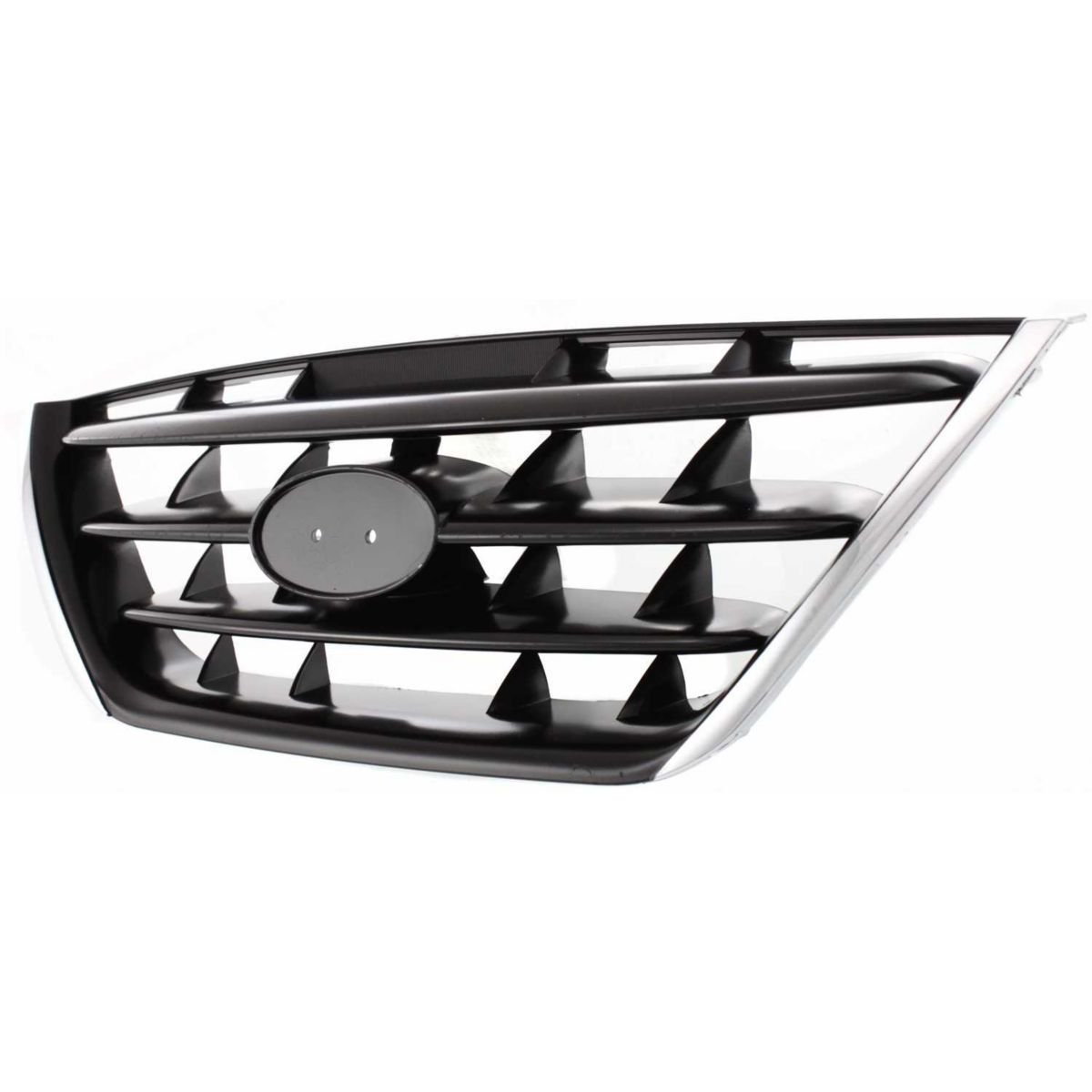 Diften 102-A8297-X01 - New Grille Assembly Grill Chrome shell black insert HY1200140 863602D500