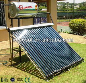 SABS certify approved compact pressurized solar water geyser