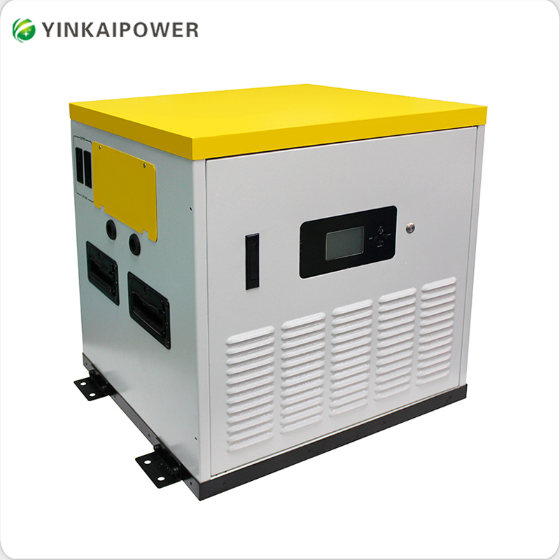 3KW off grid solar power system with inverter and controller for home lighting system