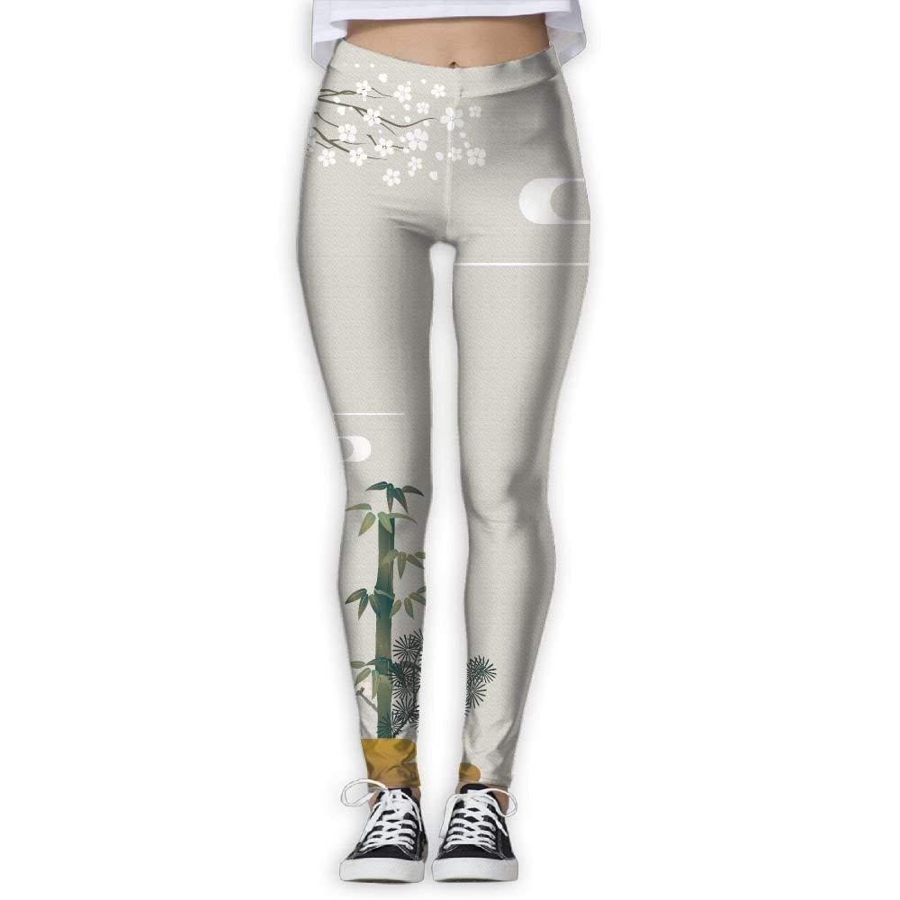 b465434e72268 Get Quotations · MARO&NG Leggings Yoga Pants Girls Womens Plum And Bamboo  Grey Stretchy Capri Leggings Skinny Pants For