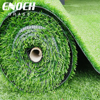 ENOCH 20MM-40MM Garden Use Artificial Natural Garden Carpet Grass