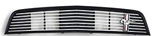 Oem Factory Stock 2011 2012 Ford Mustang Dark Gray Stainless Billet Style Grille Grill W Pony Horse Badge