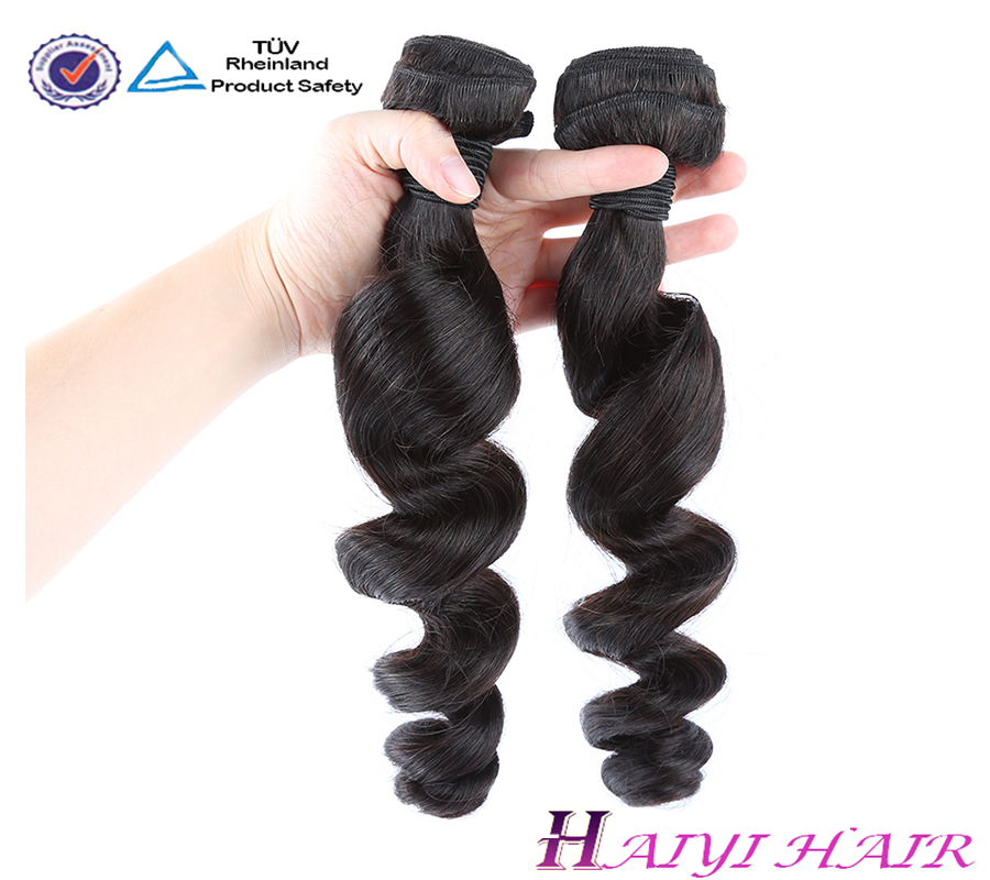 100% 9a 10a High Quality Virgin Hair Human Hair Extension Peruvian Hair