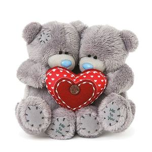 Hugging Valentine Bear Valentines Warehouse Plush Hugging Bean Bag Bears