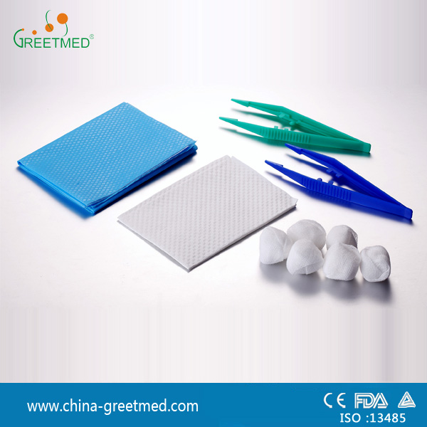 medical disposable sterile surgical basic dressing set
