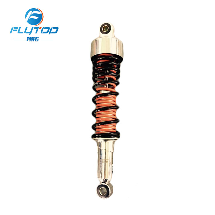 hot sale China manufacture double spring black color bajaj motorcycle parts bajaj CT100 pulsar shock absorber