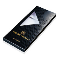 Custom colour printing foldable luxury fancy paper chocolate candy gift box packaging