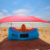 Popular light weight portable sun shelter UV50+ beach lycra tent