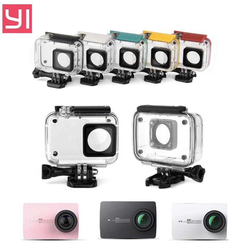 Orbmart 40m Underwater Diving Waterproof Protective Case Cover Box For Xiaomi Yi Xiaoyi Sport Action Camera Consumer Electronics