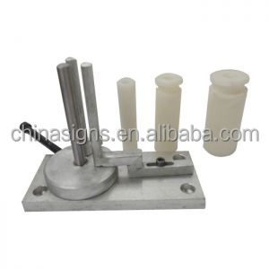 Steel and Stainless Steel Coil Strip Rounded Corner Bender Bending Tools for Metal Channel Letter