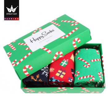 Christmas Gift Box.Happy Christmas Gift Paper Box For Socks Package Buy Socks Package Box Christmas Gift Box For Socks Packaging Happy Socks Gift Packaging Box Product