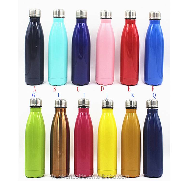 best selling custom print 500ml vacuum flask stainless steel double wall travel thermos water bottle wholesale bpa free