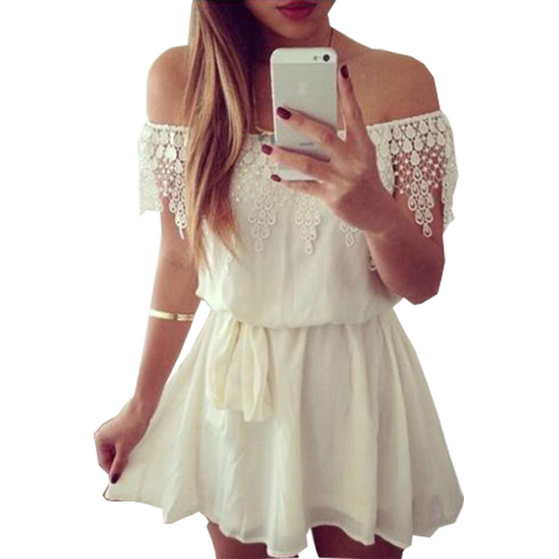 Buy Summer Style Vestidos White Lace Dress 2015 New Off