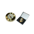 wooden gift box qibla direction finder compass wholesale brass compass