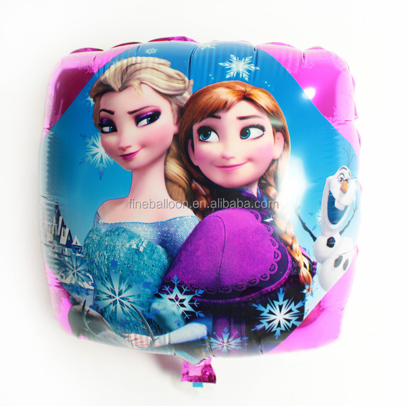 18 inch advertising promotion square Frozen foil balloons