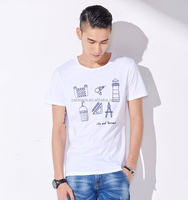 bulk american apparel men's t shirt for printing logo hot sale plain t shirt