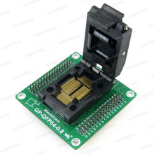 IC Package GP-QFP64-0.8 Socket for Programmer QFP64-0.8