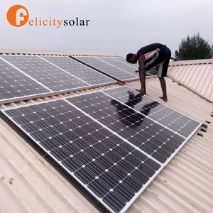 Easy assembly 3kw home wind solar hybrid power system for house