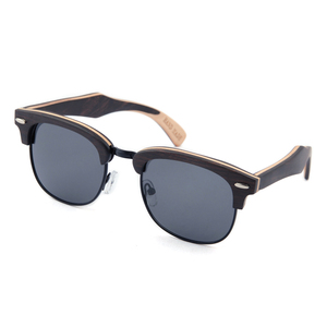bbca3959e1 2016 polarized handmade skateboard Recycled wooden sunglasses dropshipping