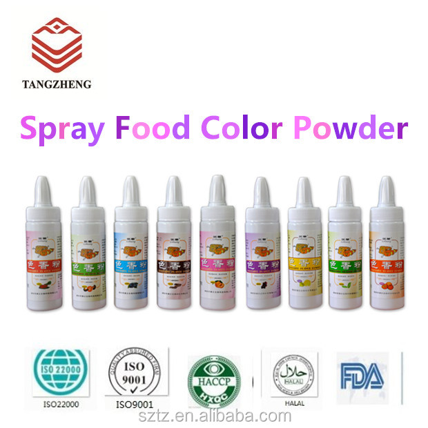Halal Spray Food Coloring With Fruit Flavor Concentrate For Baking ...