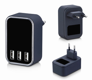 5v charger 4 usb port DC 5V 4.5A travel wall charger with KC SAA certificate