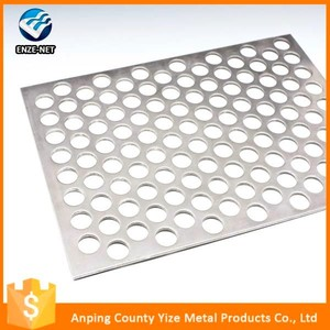 2016 hot sale product decorative plastic plate perforated metal mesh products
