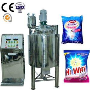 factory price washing powder mixing machine detergent powder making machine