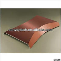 4mm Wall Paneling Copper And Aluminum Composite Panel