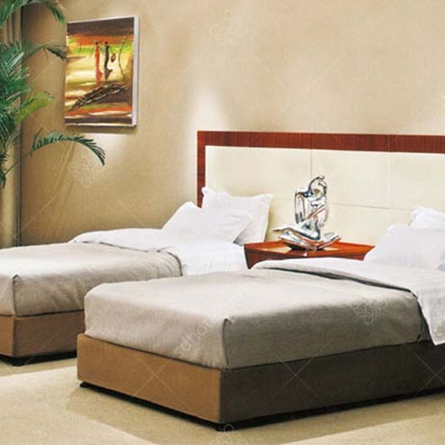 Double Bed Modern Designs Wood Hotel Bedroom Furniture Set