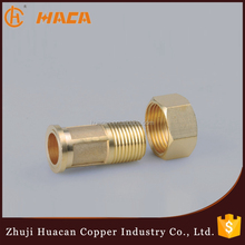 China manufacture supply brass water meter union