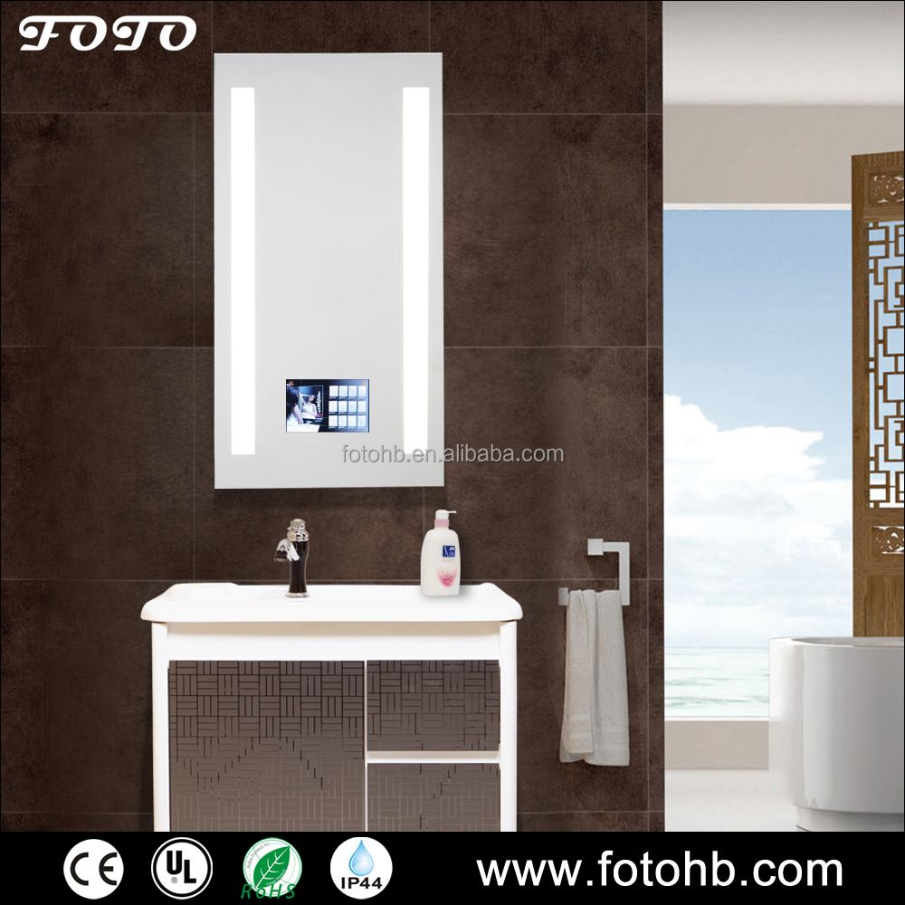 FOTO Bathroom Smart Mirror With TV For Modern Hotel Decoration