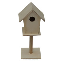 2017 China supplier wooden bird house bird cage for sale