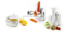 3 in 1 function food processor with thick slicer blade