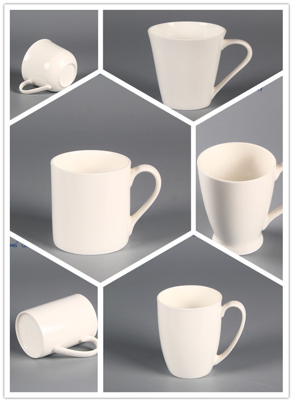 Blank Coffee Mugs Wholesale Plain White Design Cheap
