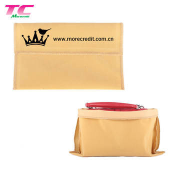 Personalized Wholesale Envelope Faux Suede Small Jewelry Pouch Bags with Logo